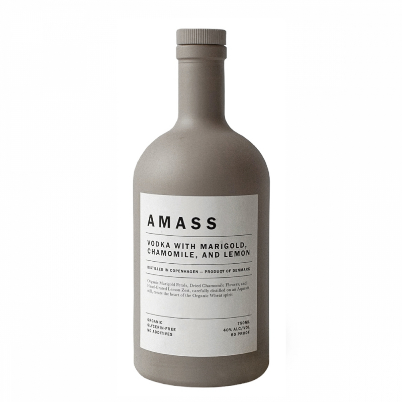 AMASS Botanic Vodka, 750ml 6 PK