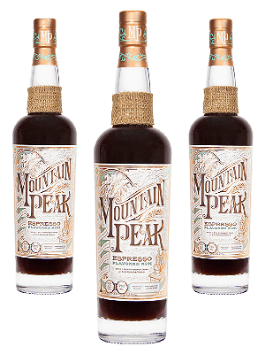 Mountain Peak Espresso Rum 3btl pack with FREE SHIPPING