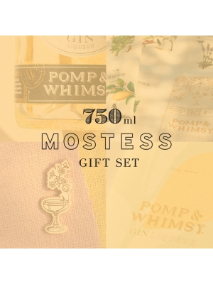 "POMP & WHIMSY ""MOSTESS"" GIFT SET 750ML"