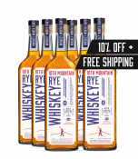 Rye Whiskey 6 Bottle Package - 10% OFF & FREE SHIPPING